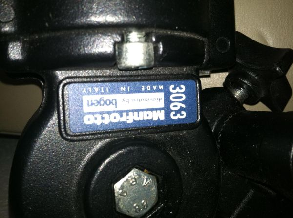 Ambico Tripod with Manfrotto Bogen Professional Model 3063 Head - $250 (Spring Branch)