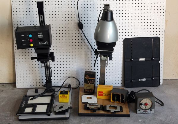 PHOTO ENLARGER KIT - SALE - $400 (HOUSTON)