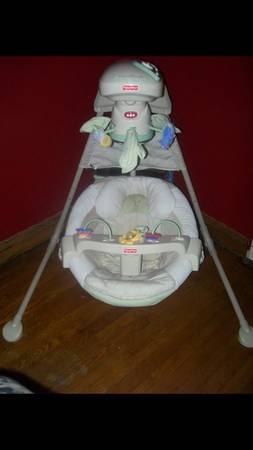 natures touch baby swing - $45 (kingwood)