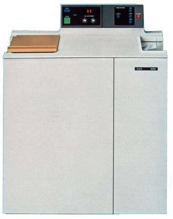 WANTED old Xerox 4000 copier