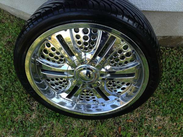 Looking for 5 lug 20 Inch Rims - $1 (Houston)