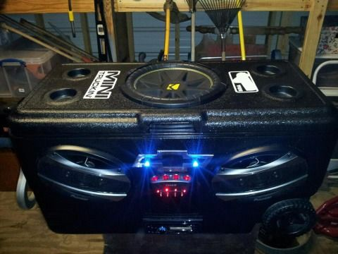 Awesome Stereo Ice Chest - $400 (Baytown)