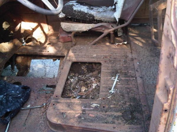 1948 - 1954 Chevy Truck floor and trans cover (Houston)
