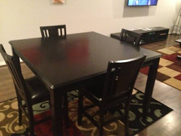 Pool Table Wanted Will trade brand new leafed Dining Room Table Set (Midtown)