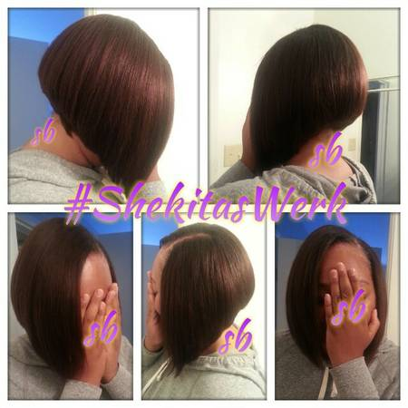 $40 quick weave bobs real.pics (north houston)