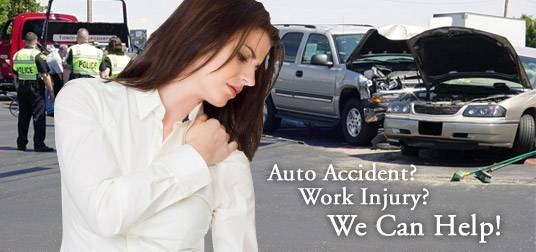 INJURED IN AN AUTO ACCIDENT ( 6201 BONHOMME SUITE 304N)