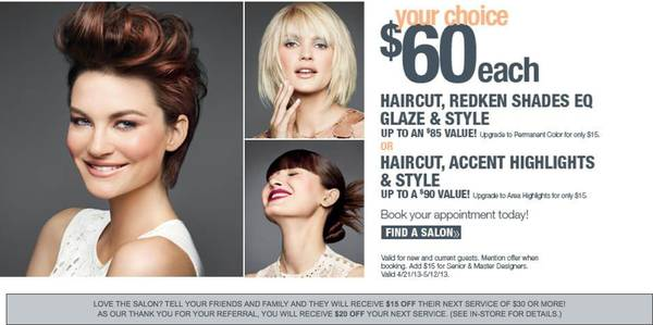 Cut, Color, Style Packages at $60 (Ulta - The Salon)