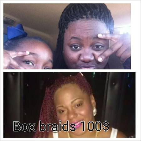 All Braids only $100 (North houston)