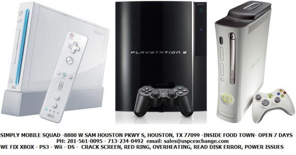 PS3 - XBOX 360 REPAIR CENTER (8800 W SAM HOUSTON PKWY S)