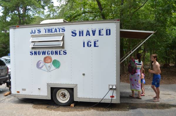 Mobile Hawaiian shaved ice snow cone trailer for hire (Houston surrounding areas)