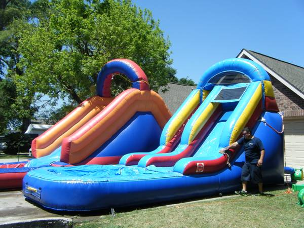 MOONWALKS, WATER SLIDES, COMBOS 3 IN 1 W WATER OR DRY (KATY, CYPRESS HOUSTON)