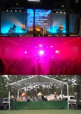 Lighting, Sound, Video Projector, Stage RENTAL - Wedding Corporate (Houston)