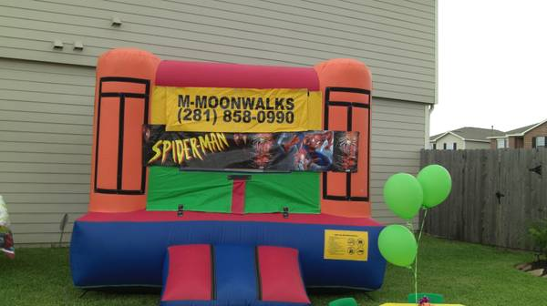REGULAR MOONWALKS $75.00 (KATY TX 77449)