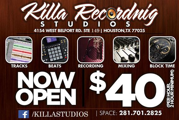 Affordable Studio Time Limited Time  25 00
