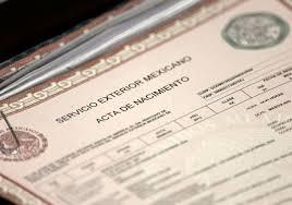 CERTIFIED  NOTARIZED Span-Eng Translations of Mexican Birth Certificates  45 24hrs