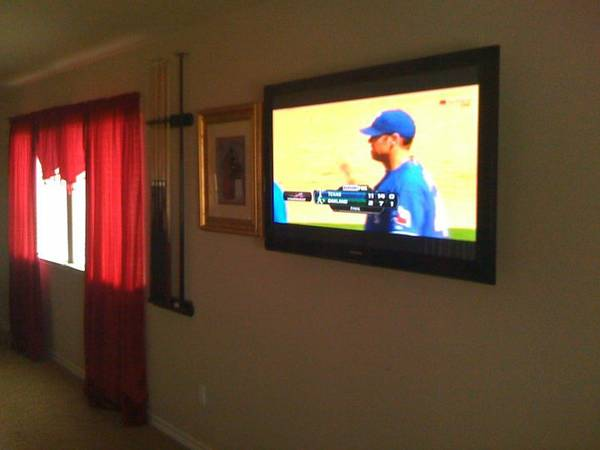 TV Mounting and Installation (Centex)
