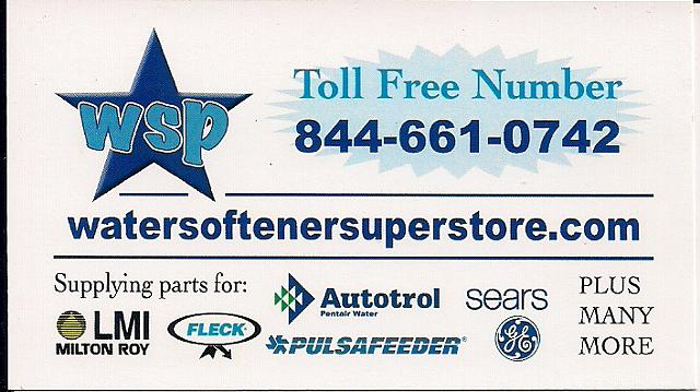 Water Softener Systems and Parts Visit water softener superstore   com