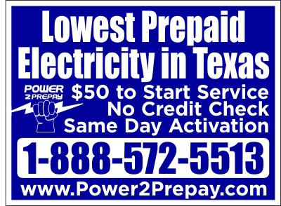 Killeen Prepaid Electricity