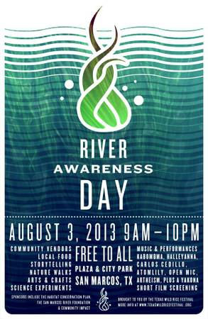 Film Makers for River Awareness Day  San Marcos