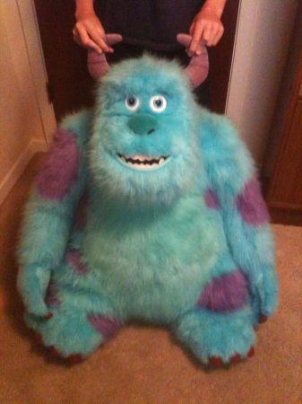 Monster Inc  plush -   x0024 200  killeen