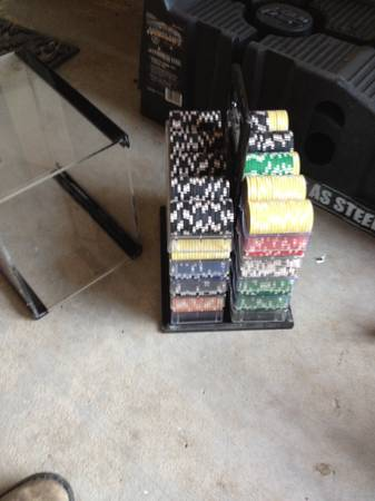 I have Pro Poker Tables  Clay Chips  Chairs   copperas cove
