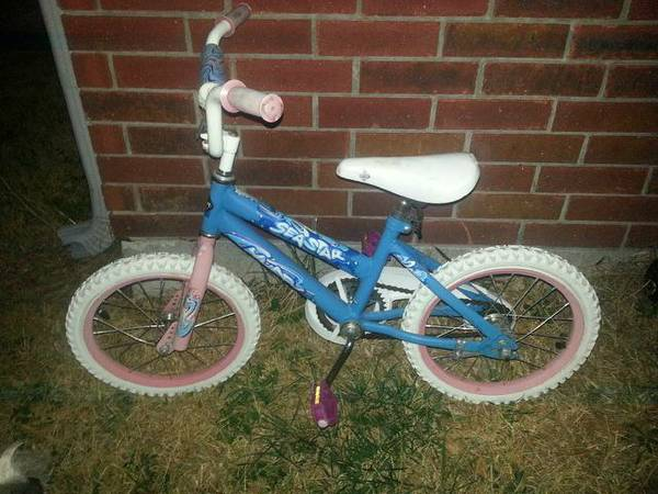 Girls Huffy 16 Sea Star Bike - x002420 (Killeen)