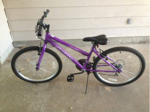 Huffy Stone Mountain 20 Inch Girl39s Mountain Bike - $40 (Killeen, Fort Hood, Cove)