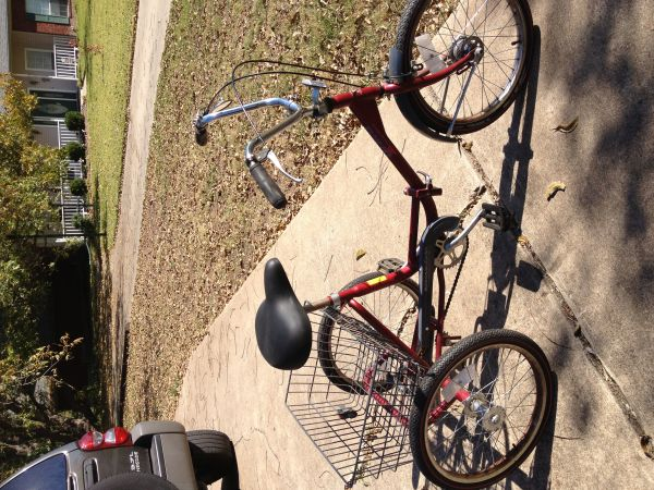 Trifecta Adult Folding Tricycle 3 Wheel Bike - $130 (TempleAustin)