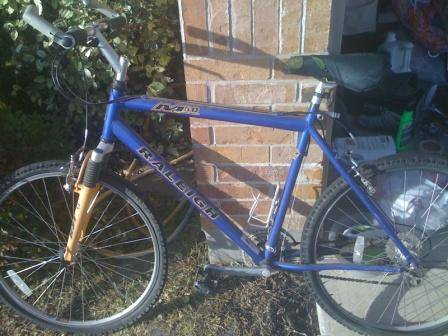 Raleigh M50 mountain bike - $40 (Temple)