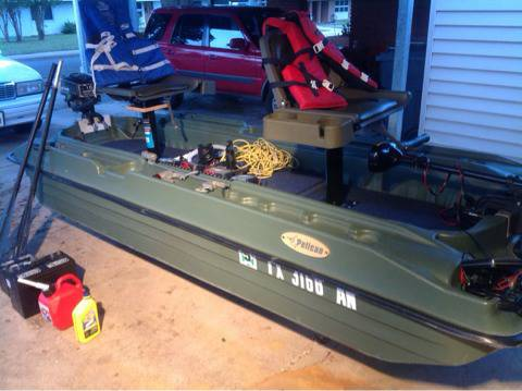 2004 pelican bass raider 10e - $1300 (Fort Hood)