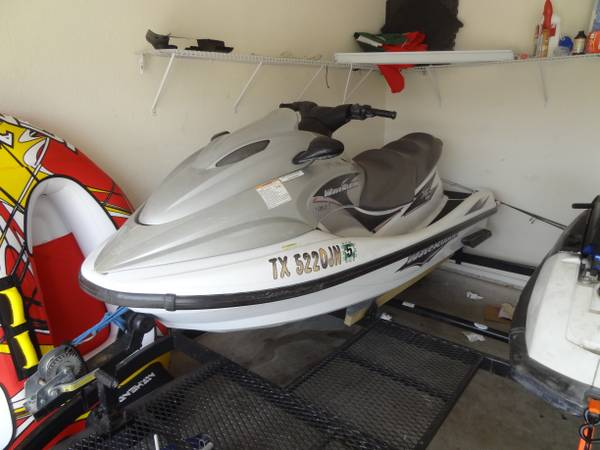 01 yamaha xlt 1200 waverunner fs or trade - $2500 (killeen)
