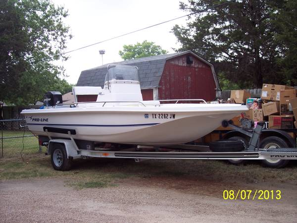 2002 ProLine 18 Bay Boat, - $7500 (Chalk Bluff)
