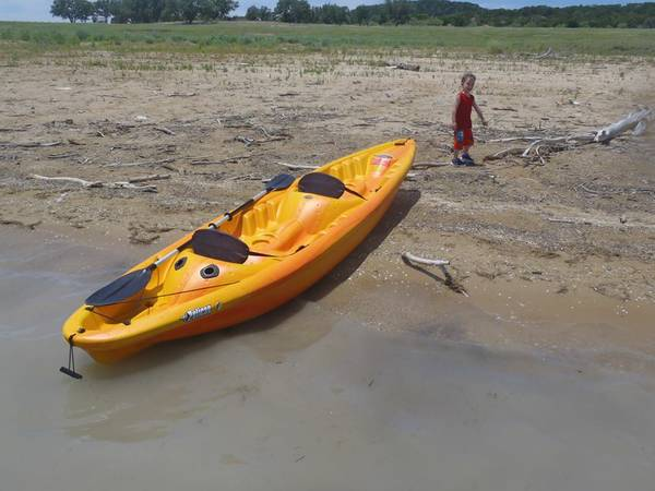 Pelican Apex 130T Kayak 2 person - $350 (Killeen)
