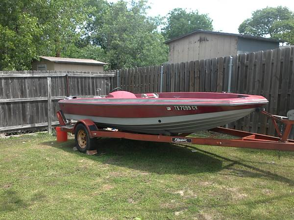 bomber bass boat project - $300 (Harker Heights)
