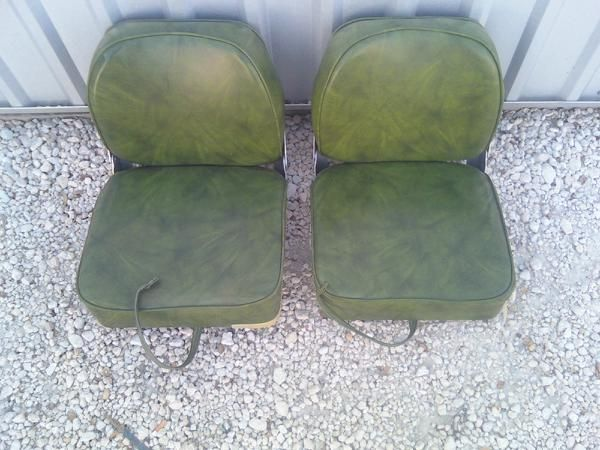 2 BASS BOAT SEATS - $35 (MORGANS POINT)