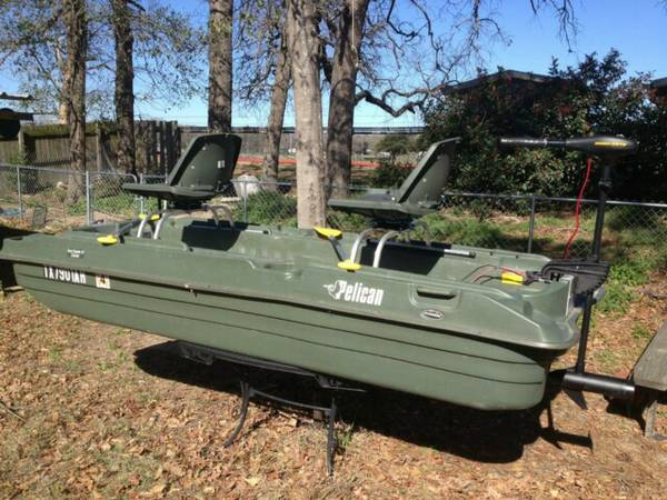 2 man bass boat - $500 (killeen tx, temple tx)