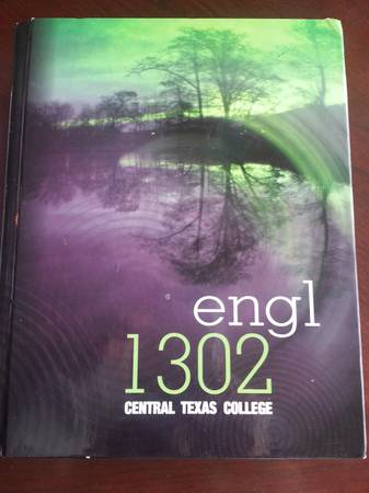 ctc English 1302 book - $40 (killeen)