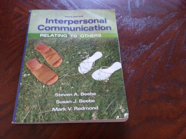 SPCH-1318 Interpersonal Communication - $60 (Kileen)