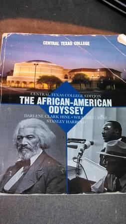 Ctc African American History Book - $25 (Killeen by Haaf)