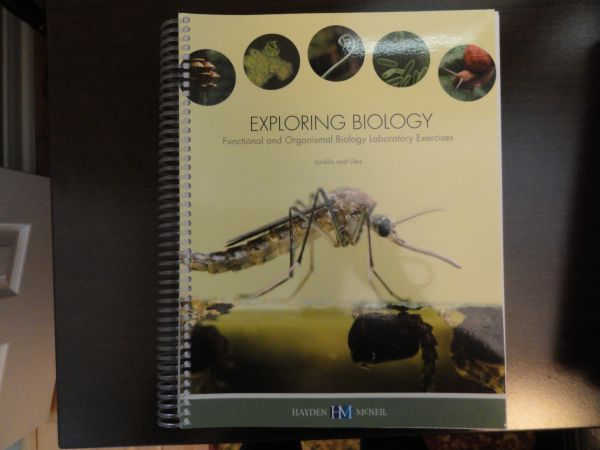 Exploring Biology Lab Book for Biology 1406 - $20 (Georgetown)