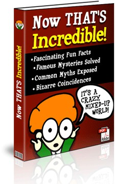 Free Ebook - A Book Of Fun Facts About Our Crazy Mixed-Up World