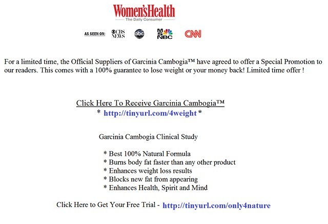 Truth about Garcinia Cambogia Extract 60 HCA by Dr  Oz - clinical study  reviews and side-effects