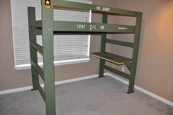 Bunk Bed with Desk - $200 (Copperas Cove)