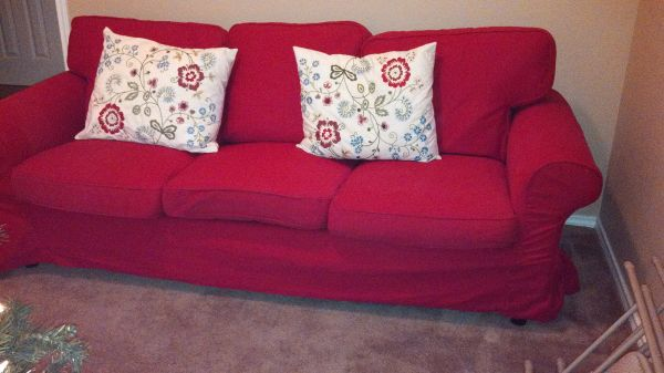 shabby chic couch - $100 (killeen)