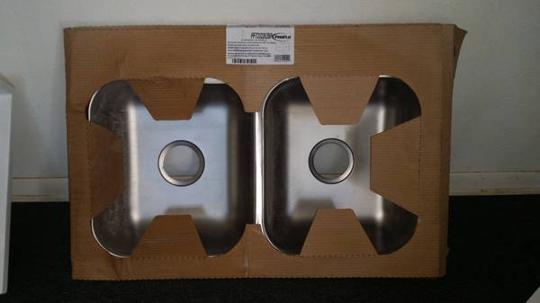 NEW Stainless Steel Sink 33x22 with hardware -   x0024 30  killeen