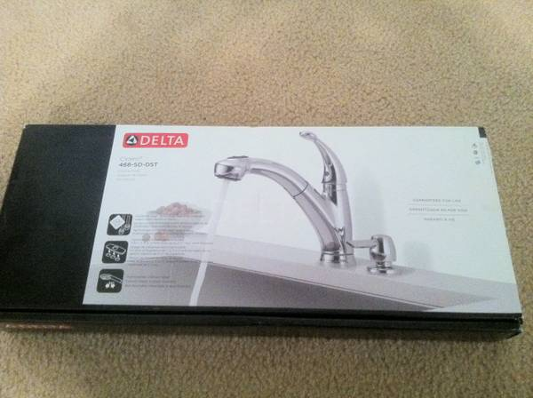 DELTA KITCHEN FAUCET CHROME  brand new  -   x0024 60  Nolanville