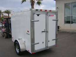 Pace 5x8 single axel enclosed trailer. - $950 (Killeen)