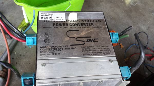 rv 35 power converter - $100 (copperas cove )