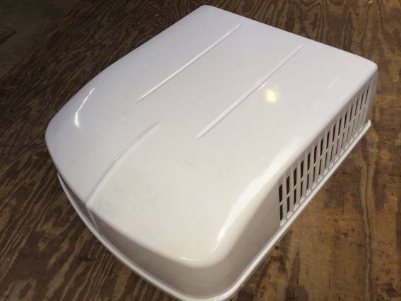 Roof air conditioner shroud cover white - $50 (Temple)