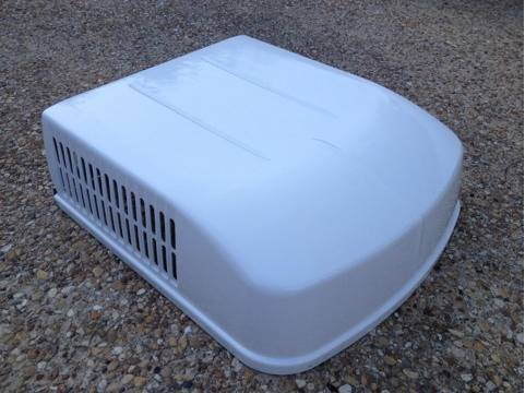 Roof air conditioner shroud cover white - $30 (Temple)